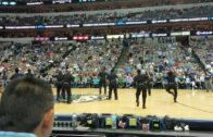 "Dallas Police dance to ""JuJu On That Beat"" at the Dallas Mavericks game"