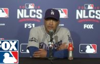 Dave Roberts says the Cubs outplayed the Dodgers in the NLCS