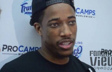 DeMar DeRozan speaks on the 2016 Toronto Raptors & more with Fanatics View