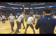 Fanatics View Live in Denver: Justin Anderson tries to take Dirk Nowtizki 1-on-1