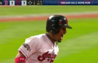 Francisco Lindor smacks the 3rd homer of the 3rd inning for the Indians