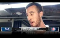 Hornets' Frank Kaminsky explains why he is rooting against the Cubs