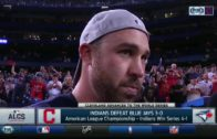 Jason Kipnis speaks on the Cleveland Indians heading to the World Series