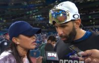 Jose Bautista on sweeping the Texas Rangers in the ALDS