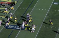 Michigan brings out 11 men in a row formation vs. Illinois