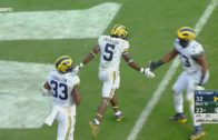 Michigan's Jabrill Peppers returns 2-point conversion fumble the distance