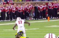 Michigan's Jourdan Lewis makes unreal one handed interception