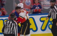 Milan Lucic & Deryk Engelland drop the gloves over McDavid hit