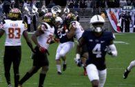 Penn State's kicker Joey Julius gets drilled again vs. Maryland