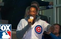 "Scottie Pippen has trouble with ""Take Me Out to the Ball Game"""