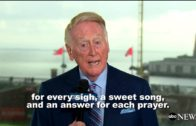 Vin Scully's final sign off for the Los Angeles Dodgers