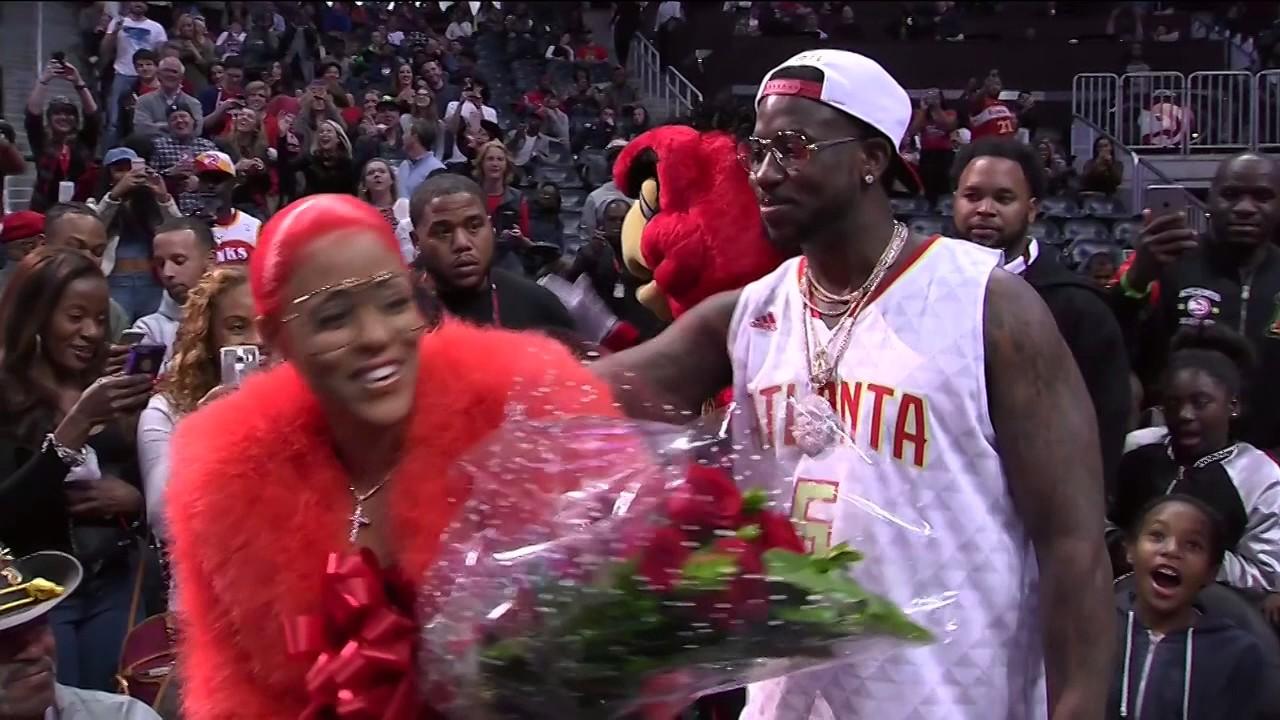 Atlanta Rapper Gucci Mane Proposes To His Girlfriend At The Atlanta