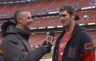 Browns TE Gary Barnidge speaks on the Browns loss to the Pittsburgh Steelers