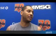 """Carmelo Anthony says Phil Jackson probably regrets his """"posse"""" comments"""