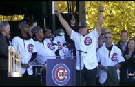 Chicago Cubs full World Series Championship rally speeches