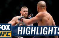Conor McGregor vs. Eddie Alvarez UFC 205 fight highlights