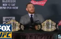 Conor McGregor's full UFC 205 post-fight press conference