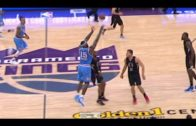 DeMarcus Cousins hits a half court buzzer beater vs. the Clippers