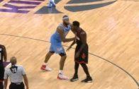 DeMarcus Cousins shoves Rockets guard Patrick Beverely