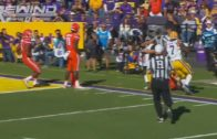 Florida's Vosean Joseph blows up LSU quarterback Danny Etling