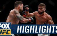 Frankie Edgar vs. Jeremy Stephens UFC 205 fight highlights