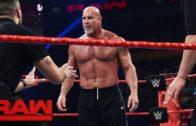Goldberg & Brock Lesnar meet face to face before Survivor Series
