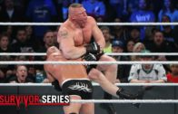 Goldberg takes out Brock Lesnar in only 2 minutes at Survivor Series