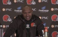 Hue Jackson speaks on the Cleveland Browns 0-11 start after loss to Steelers
