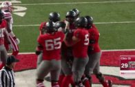 J.T. Barrett throws a jump pass Touchdown vs. Nebraska