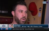 Jason Kipnis calls Game 7 one of wackiest games he's played