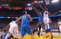 Jerami Grant puts Kevin Durant on a poster