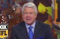 Jimmy Johnson reacts to Dallas Cowboys Thanksgiving win over Washington