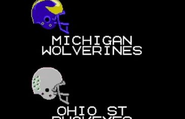 Michigan's loss to Ohio State gets the Tecmo Bowl treatment