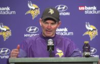 Mike Zimmer speaks on the Vikings win over the Arizona Cardinals