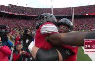 Ohio State's Curtis Samuel scores Double OT touchdown to defeat Michigan