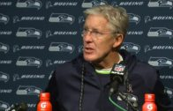 Pete Carroll speaks on the Seahawks victory over the New England Patriots