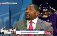 Ray Lewis' comments about Joe Flacco's lack of passion