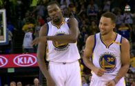 Steph Curry sets NBA single game record with 13 three pointers