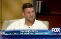 """Tim Tebow speaks on his new book """"Shaken"""" with FOX & Friends"""