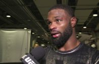 Tyron Woodley's Backstage Interview at UFC 205