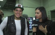 Amanda Nunes backstage UFC 207 interview after beating Ronda Rousey