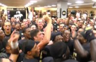 Army's epic locker room celebration earlier this year