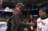 Carmelo Anthony gives new KIA to 17 year old Knicks fan suffering from cancer