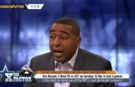 Cris Carter says Dez Bryant's performance against the Lions doesn't mean he's back