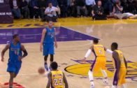 Devin Harris puts Jordan Clarkson on skates with a sweet crossover