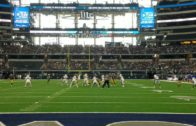 Fanatics View Live in Arlington: John Stephen Jones completes near touchdown pass at AT&T Stadium