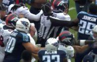 Harry Douglas' cut block leads to Titans & Broncos brawl