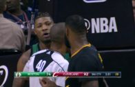 Marcus Smart wanted to fight LeBron James but LeBron laughs him off