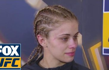 Paige VanZant explains her submission loss to Michelle Waterson
