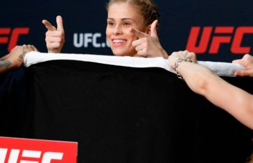 Paige VanZant strips naked to make weight for UFC on FOX 22